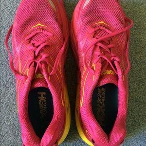 Pink Women's Hoka One One Clifton 3 Size 10